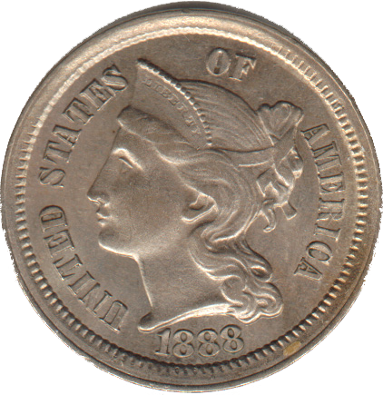 3 cent nickel